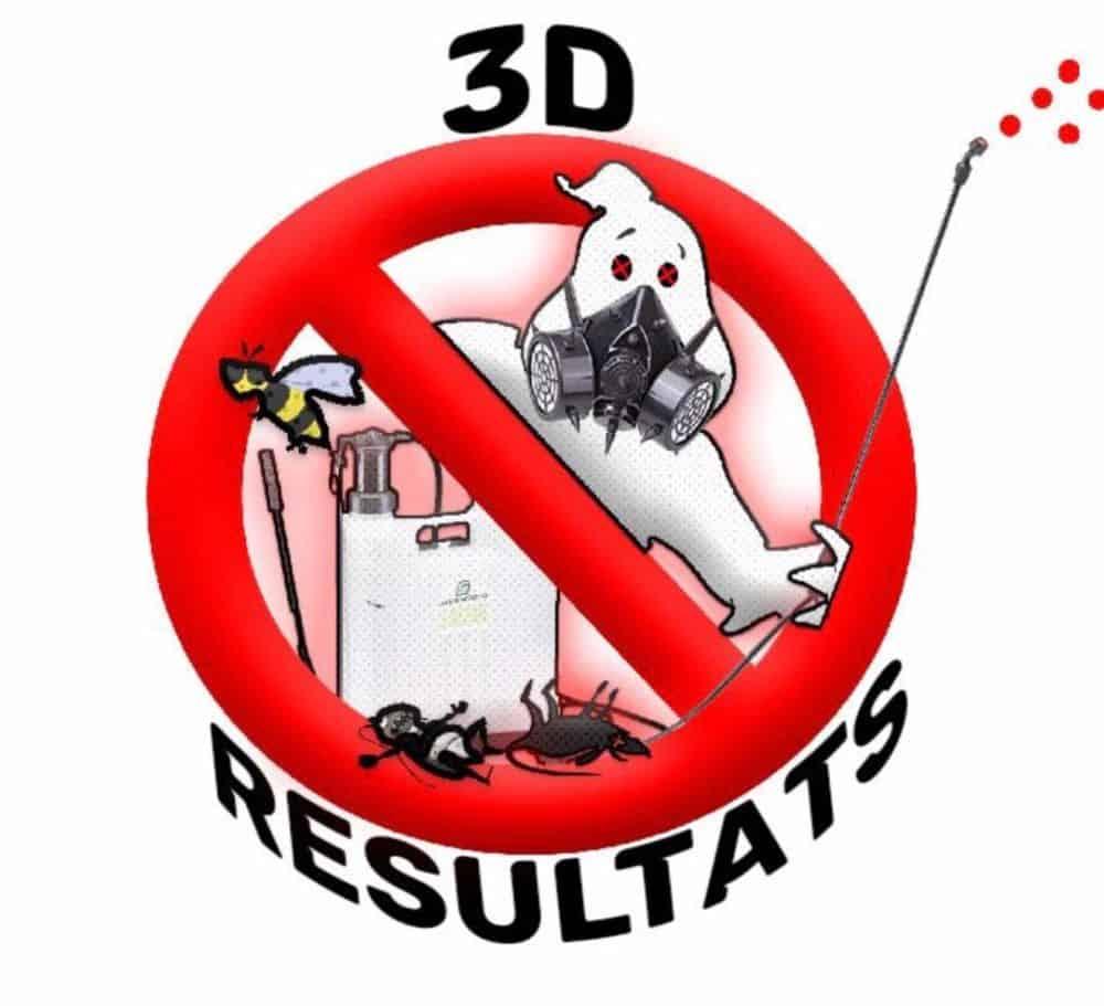 Logo 3D RESULTATS